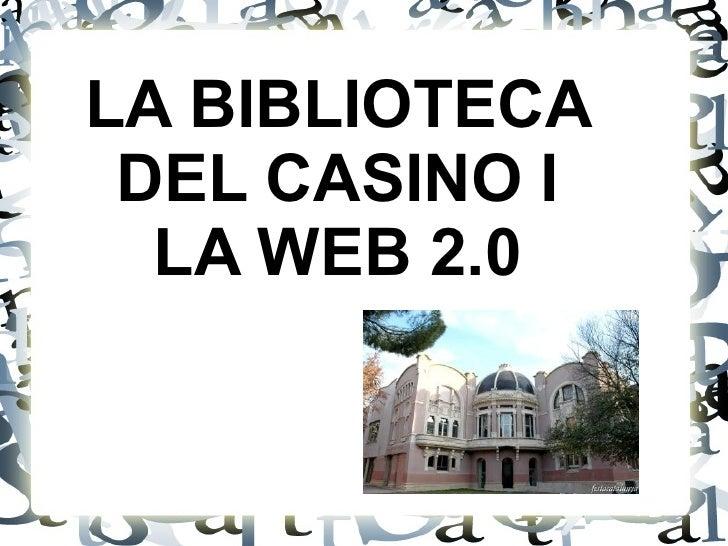 BIBLIOTECA EL CASINO MANRESA