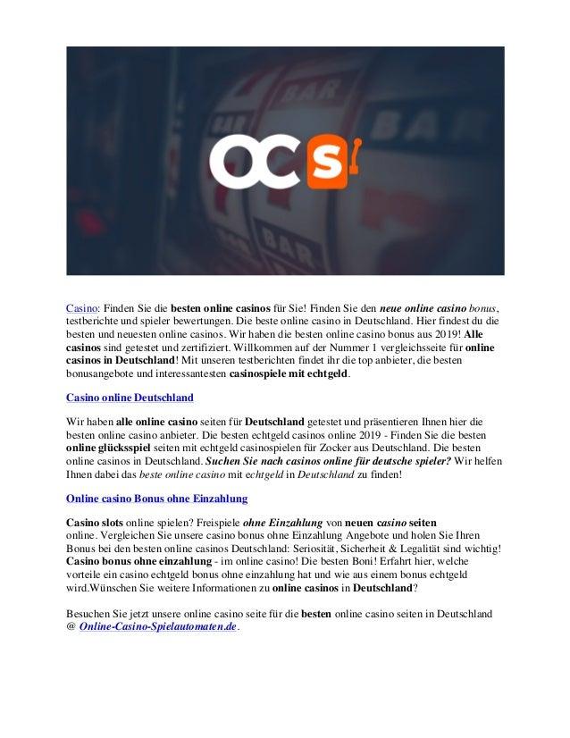 Casino Deutschland Die Beste Online Casinos In Deutschland