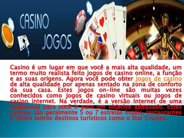 Casino é um lugar em que você a mais alta qualidade, umtermo muito realista feito jogos de casino online, a funçãoe as sua...