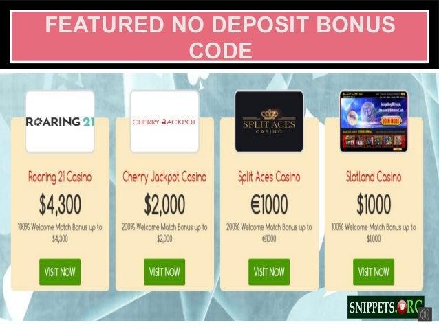 Latest Casino Match Bonus Code Online