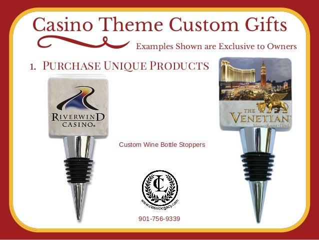 Casino custom gifts by Classic Legacy Custom Gifts Slide 3