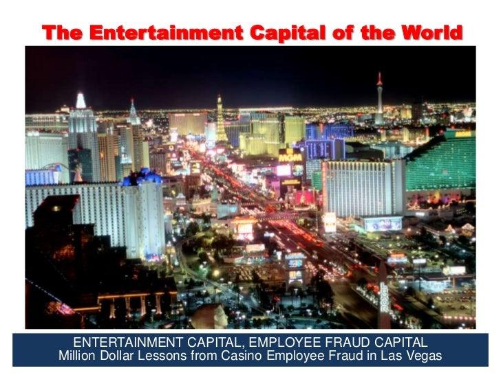 Entertainment Capital, Employee Fraud Capital Slide 3