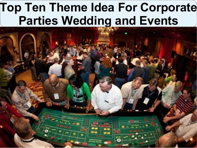 Theme Party Ideas For Corporate Parties Weddings And Events
