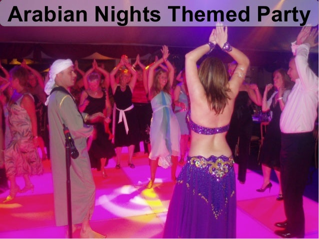 Theme party ideas for corporate parties, weddings and Events
