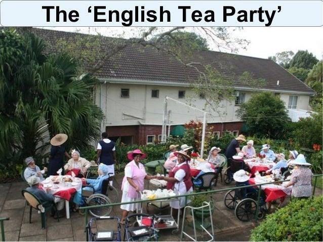 The English Tea Party