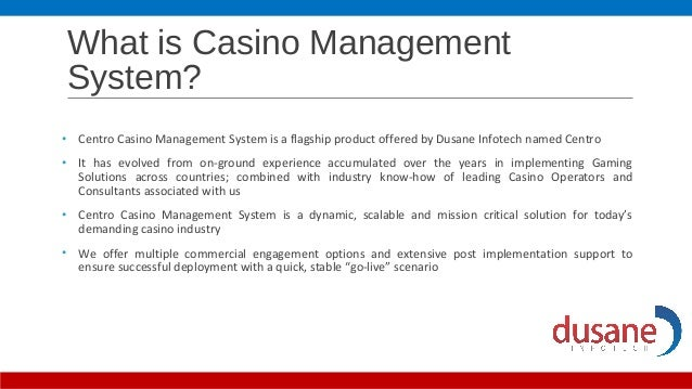 Casino document management big m casino boat