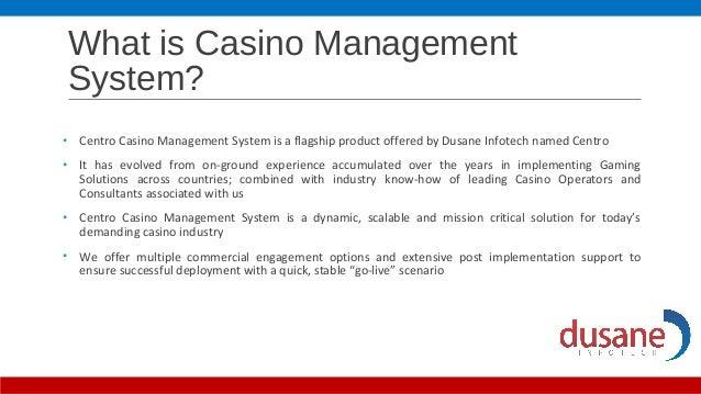 Casino document management big m casino boat