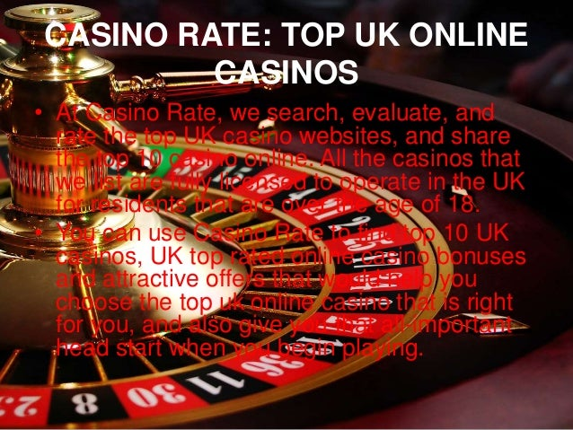 Top 10 Uk Online Casinos