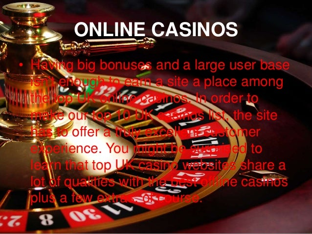 Top 10 Casino Uk