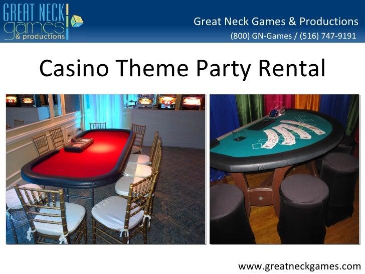 Great Neck Games & Productions                   (800) GN-Games / (516) 747-9191Casino Theme Party Rental                 ...