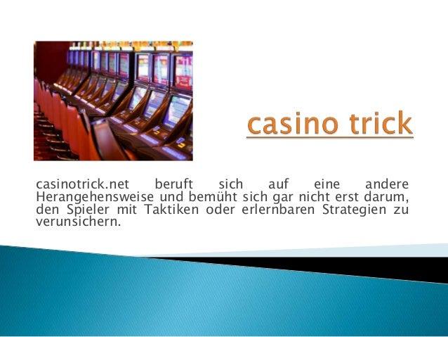 casinotrick.net beruft sich auf eine andere Herangehensweise und bemüht sich gar nicht erst darum, den Spieler mit Taktike...