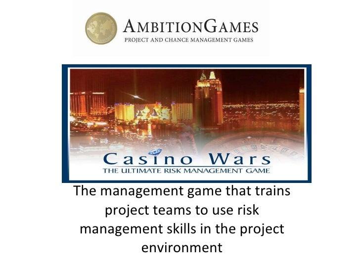 Casino risk management casino gambling good software
