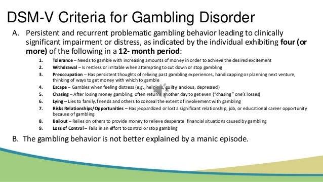 results of gambling addiction