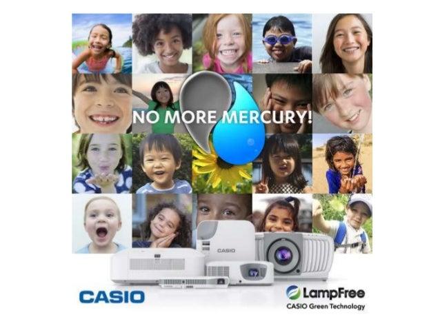 Casio: prohibición del mercurio
