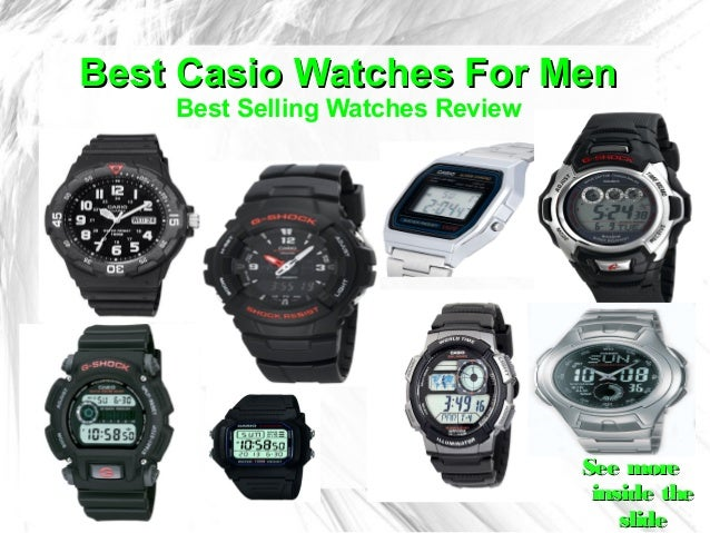 Best Casio Watches For Men    Best Selling Watches Review                                  See more                       ...
