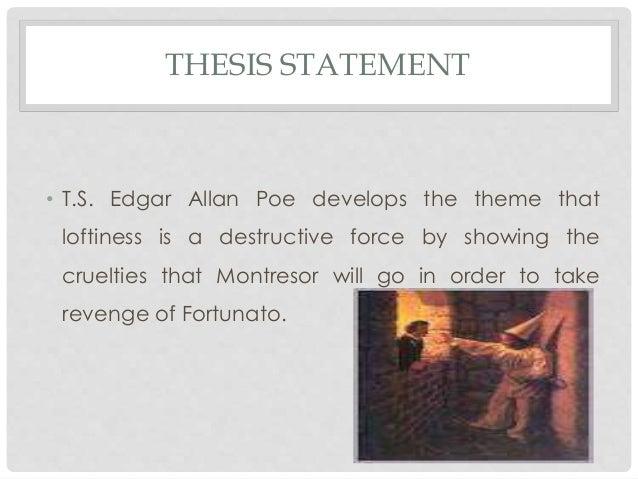 edgar allan poe thesis statement