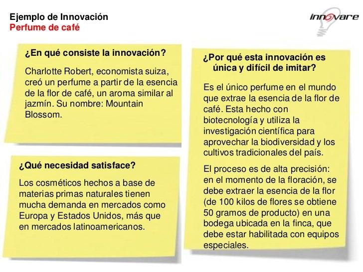 4 ejemplos de innovaciones