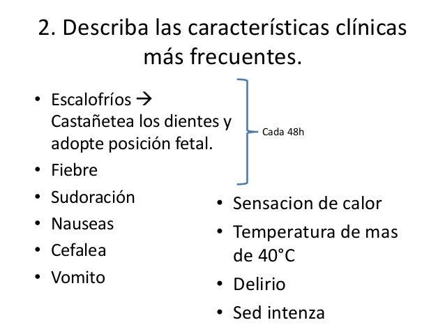 3. Describa los procedimientos diagnósticos