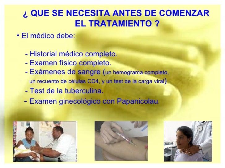 Tratamientos SIDA