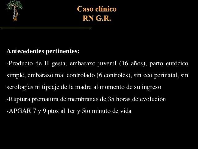 Caso clínico BANDAS AMNIOTICAS Slide 3