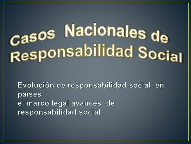 • La Responsabilidad Social es un concepto que aparece de forma explícita a mediados del siglo XX. Sin embargo, se puede a...