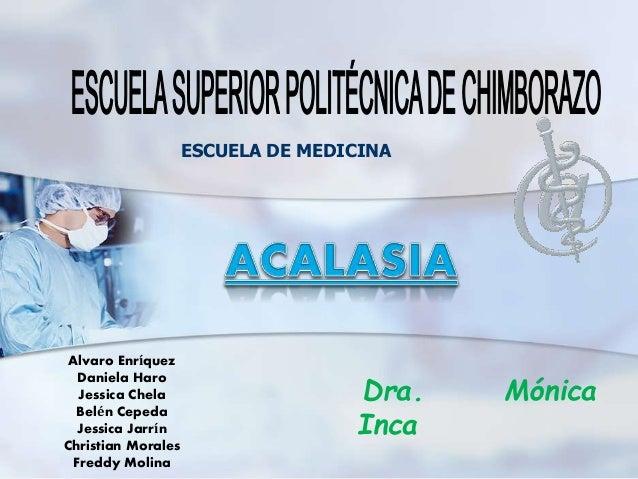 Alvaro Enríquez Daniela Haro Jessica Chela Belén Cepeda Jessica Jarrín Christian Morales Freddy Molina Dra. Mónica Inca ES...