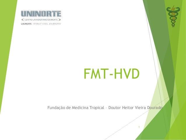 FMT-HVD  Fundação de Medicina Tropical – Doutor Heitor Vieira Dourado  1