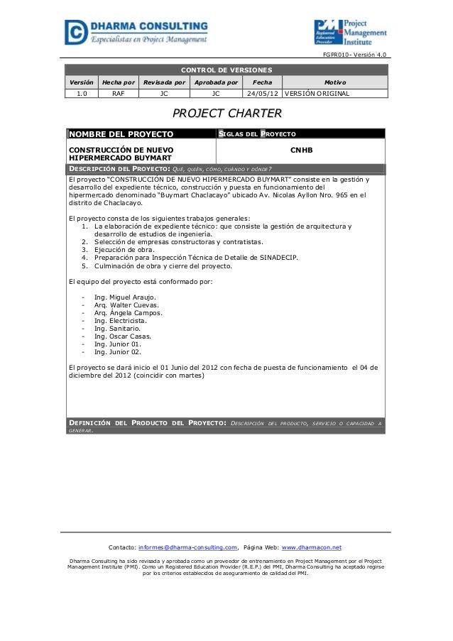 FGPR010- Versión 4.0CONTROL DE VERSIONESVersión Hecha por Revisada por Aprobada por Fecha Motivo1.0 RAF JC JC 24/05/12 VER...