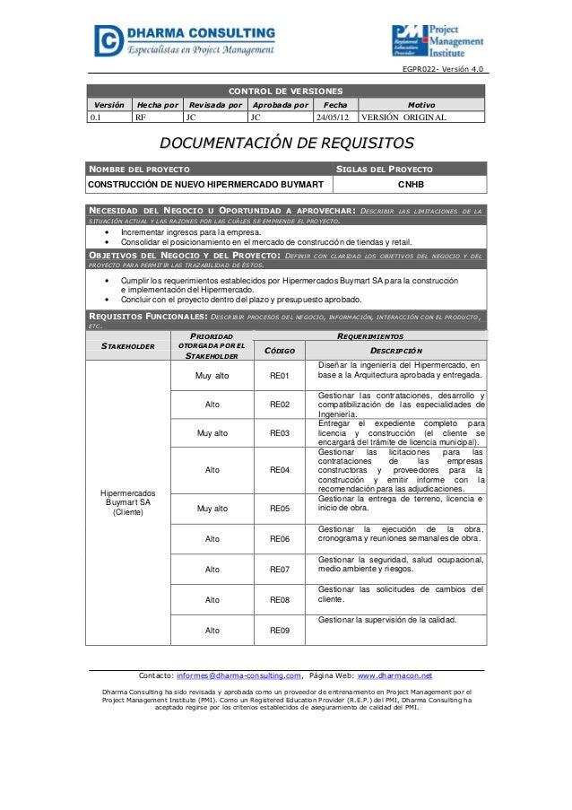 EGPR022- Versión 4.0CONTROL DE VERSIONESVersión Hecha por Revisada por Aprobada por Fecha Motivo0.1 RF JC JC 24/05/12 VERS...