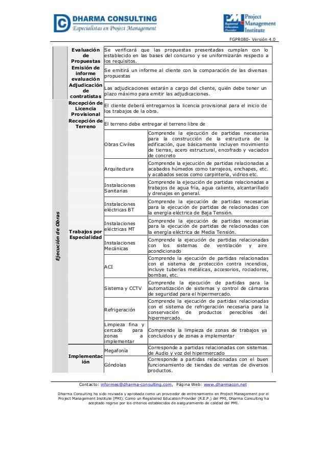 FGPR080- Versión 4.0Contacto: informes@dharma-consulting.com, Página Web: www.dharmacon.netDharma Consulting ha sido revis...