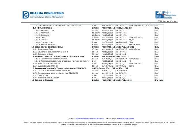 FGPR100- Versión 4.0Contacto: informes@dharma-consulting.com, Página Web: www.dharmacon.netDharma Consulting ha sido revis...