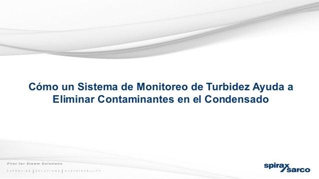 Cómo un Sistema de Monitoreo de Turbidez Ayuda a Eliminar Contaminantes en el Condensado
