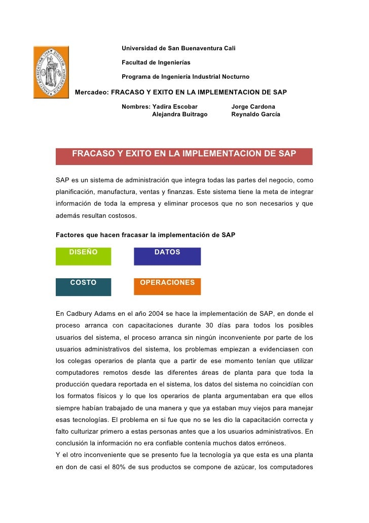 Universidad de San Buenaventura Cali                        Facultad de Ingenierías                        Programa de Ing...