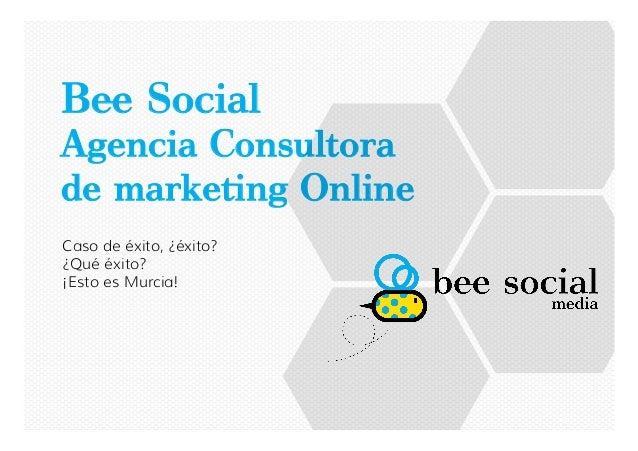 """B! Social Agencia Consultora de marke""""ng Online Caso de éxito, ¿éxito? ¿Qué éxito? ¡Esto es Murcia!"""