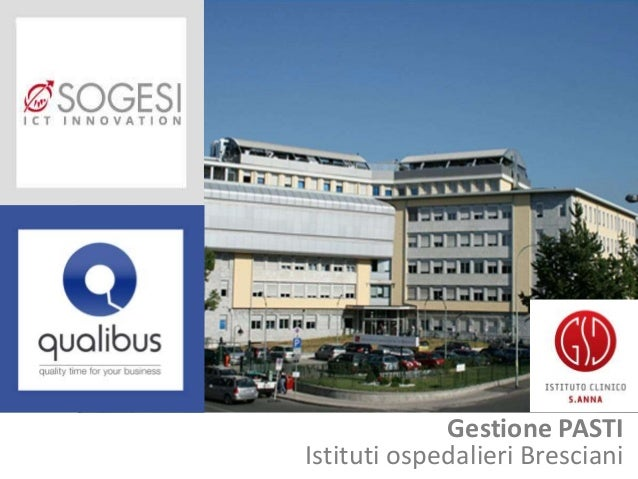 Gestione PASTI Istituti ospedalieri Bresciani