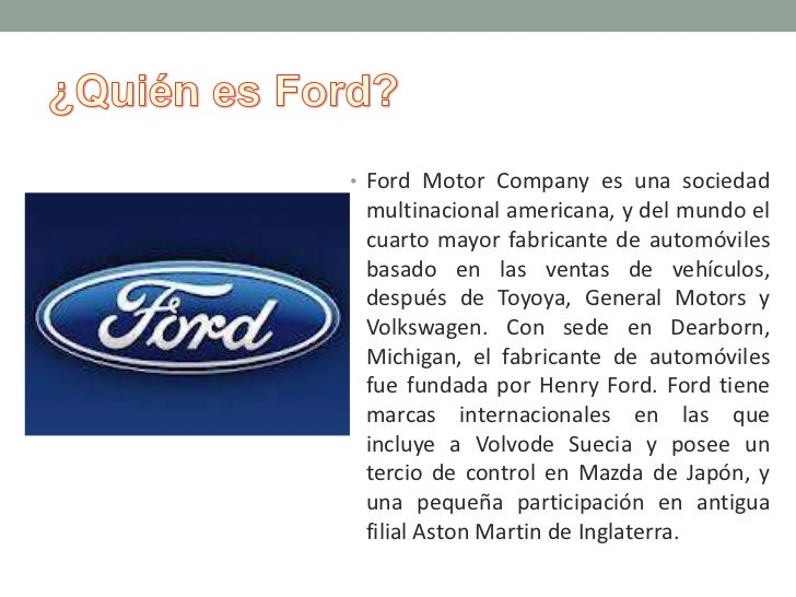 Caso Ford Firestone