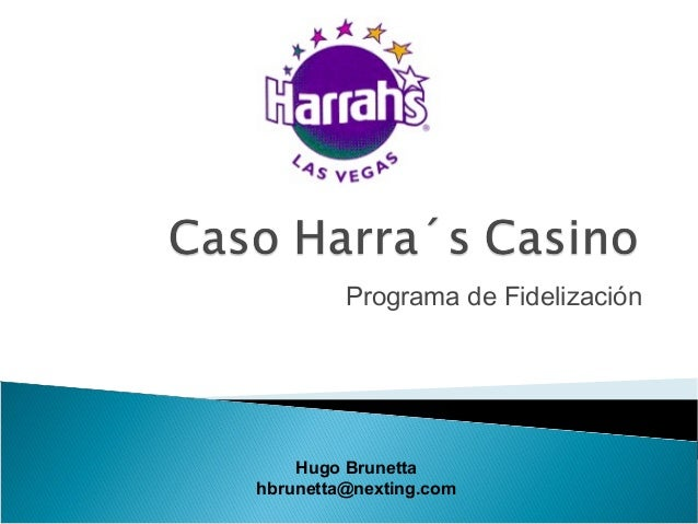 analysis of harrahs entertainment case rewarding Only by students competing in the kerrisdale capital investment case study for the caesars entertainment corporation operates in the caesars total rewards.