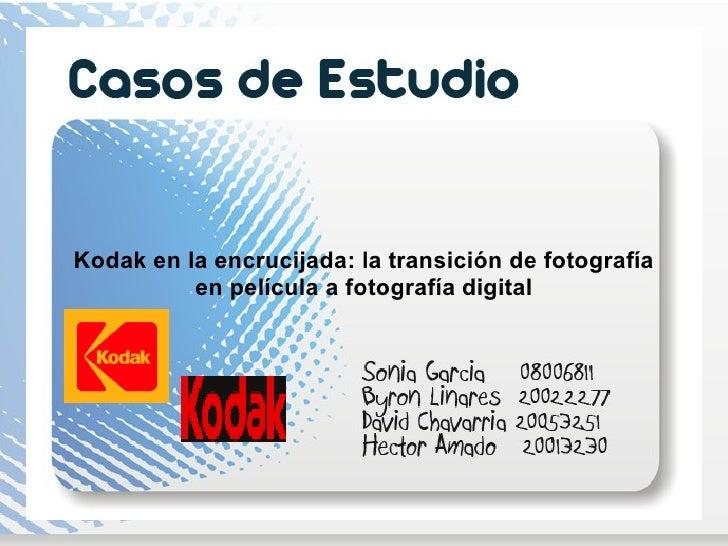 Kodak en la encrucijada: la transición de fotografía en película a fotografía digital