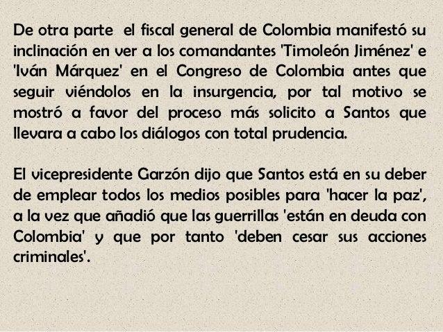 Participación Política: En este punto, la insurgencia y elgobierno colombiano establecerían la supervivencia (y losderecho...