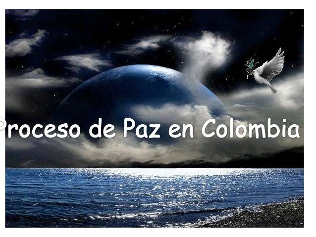 Caso, la paz en colombia