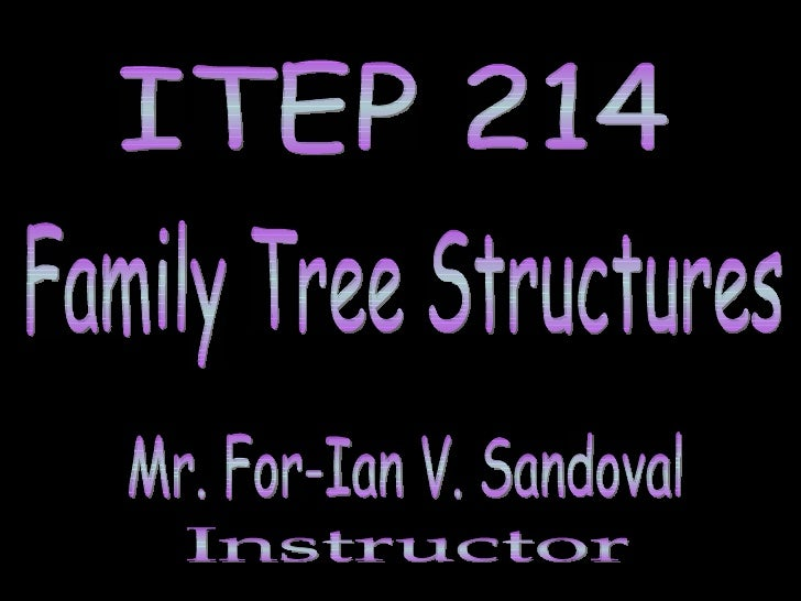 FAMILY TREE STRUCTURE