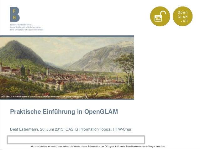 Berner Fachhochschule   Haute école spécialisée bernoise   Bern University of Applied Sciences Praktische Einführung in Op...
