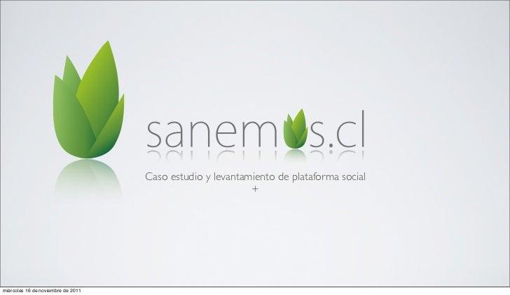 Caso estudio y levantamiento de plataforma social                                                           +miércoles 16 ...