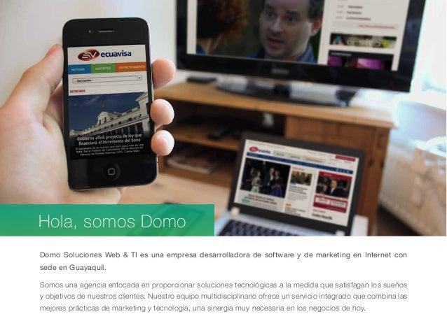 Casos de Exito DOMO Soluciones Web & TI Slide 2