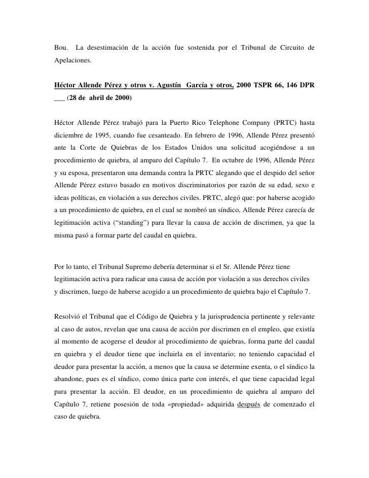 Sinopsis jurisprudencia discrimen en el empleo puerto rico - Trabajo en el puerto ...