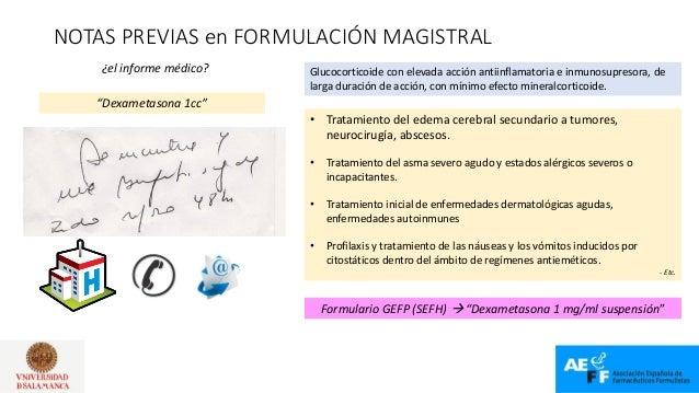 Casos prácticos y novedades en formulación magistral