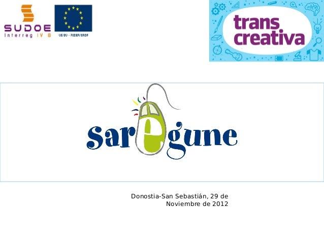 Donostia-San Sebastián, 29 de          Noviembre de 2012
