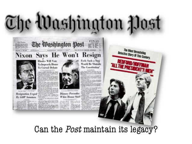 Can the Post maintain its legacy?
