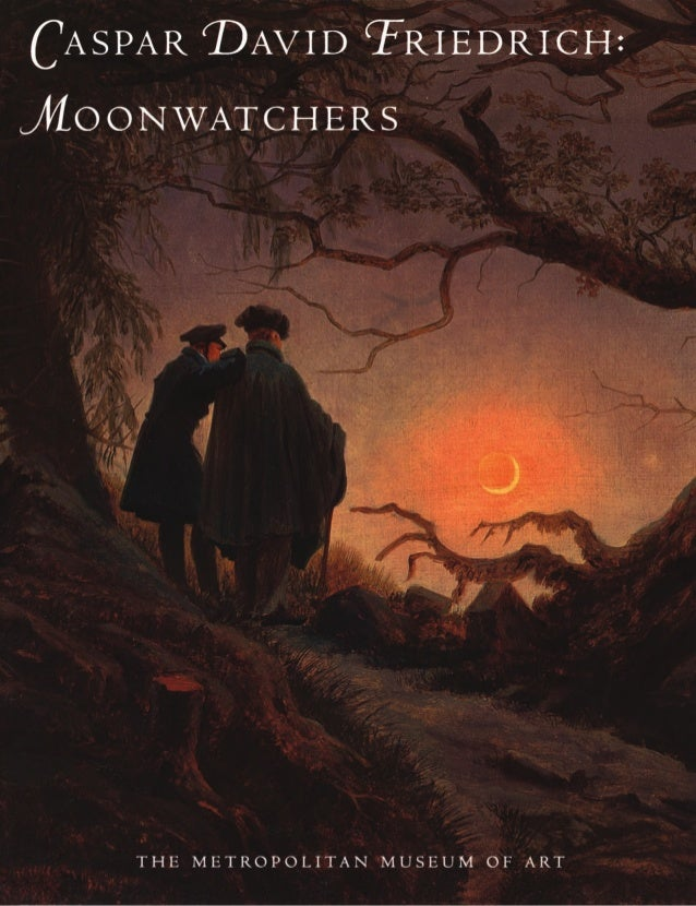 Caspar david friedrich_moonwatchers