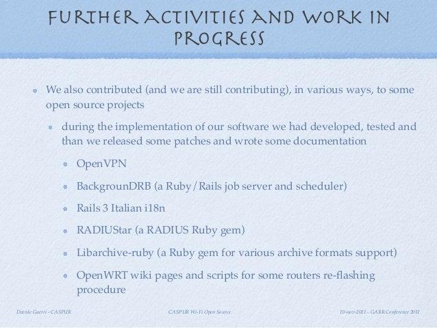 Caspur wi fi open source garr conf 2011